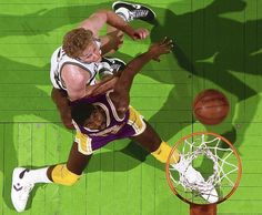 1980s | Larry Bird and Magic Johnson