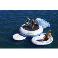 O-Zone Water Bouncer 8 Ft. for $329.99 #WaterTrampolines #CozyDays