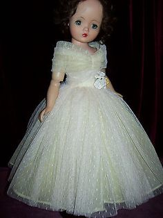 MY VERSION OF 1959 BOXED X-TRA BUTTERFLY GOWN ~ FOR MADAME ALEXANDER CISSY DOLL