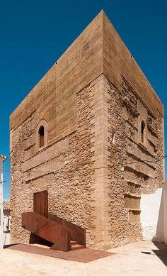 Fernando Visedo Manzanares-Fernando Alda.Restoration of the Setenil de la Bodegas Homage's Tower.Setenil de las Bodegas.Spain.2014