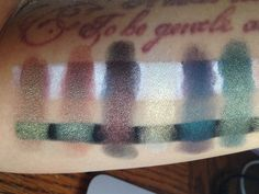 Vivre Glam: Swatches - Makeup Geek Duochrome Eyeshadow collection