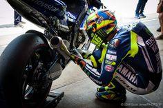 Rossi and his rituals. Catalunya