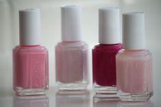 pink nail polish obsession
