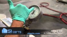 ASTM C231 - ACI Concrete Air Test - Pressure Method Concrete, Youtube, Youtubers, Youtube Movies