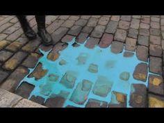 Cornelia Parker- Casts of pavements