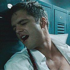 (click through for whole gifset)  That's how you look when you get punched in the face. damn you Sebastian stan