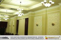 DECORATIUNI INTERIOARE (118/169) Curtains, Wallpaper, Interior, Design, Home Decor, Art Deco, Blinds, Decoration Home, Indoor
