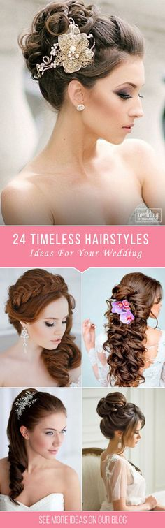Bridal Hairstyles : 24 Timeless Bridal Hairstyles  If youre still looking for a great hairstyl