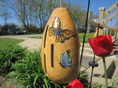 Gourd Butterfly House by lindajdesigns on Etsy, $40.00