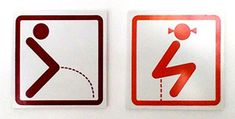 20 Creative and Funny Toilet Signs (bathroom sign, restroom sign) - ODDEE