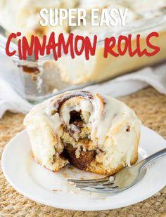 Super Easy Cinnamon Rolls Recipe - I Wash... You Dry