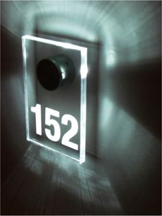 LED room number