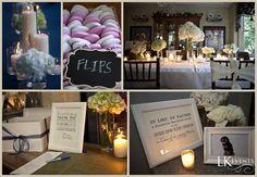 Chicago Wedding Details - Flip Flops - Candles - Thank You - Favor Sign **Doug McGoldrick Photography**