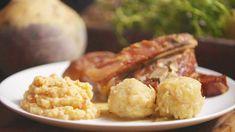 Pinnekjøtt med komler og kålrabistappe Cauliflower, Potato, Vegetables, Food, Dessert, Potatoes, Cauliflowers, Essen, Deserts