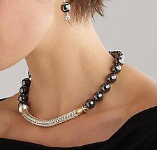 Silver & Stone Necklace by Ann Cahoon