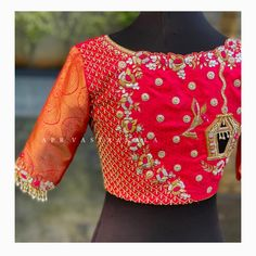Saree Blouse, Blouse Designs, Christmas Sweaters, Blouses, My Favorite Things, Instagram, Fashion, Moda, Fashion Styles