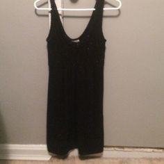 black dress sweater material only worn a couple of times great condition Aeropostale Dresses
