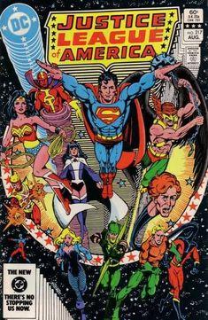 Superman - Wonderwoman - Aquaman - Green Archer - Hawkman - George Perez