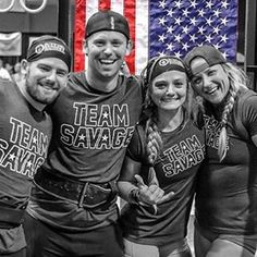 """Nothing like competing with your crew!! ------- Is your crew SAVAGE? ------ Tag your crew here!  Hit up Savage for for your next competition....we might hook you up with that SAVAGE swag!  #savagebarbell #teamsavagebarbell #wodapalooza #crossfit #crossfitgirls #crossfitathlete #crossfitgames #crossfitgear #gym #gymlife #olympiclifting #fitchick #barbell #girlswholift #lifting"" Photo taken by @savage_barbell on Instagram, pinned via the InstaPin iOS App! http://www.instapinapp.com…"