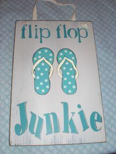 Flip Flop Beachy Sign, so true Flip Flop Quotes, Beachy Signs, Flip Flop Craft, Decorating Flip Flops, Beach Quotes, Ocean Quotes, My New Room, Beach Themes, Beach Ideas