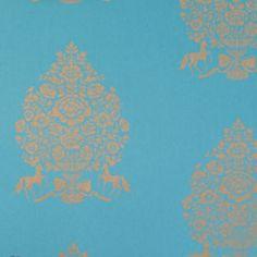 Pip For President blue, behang