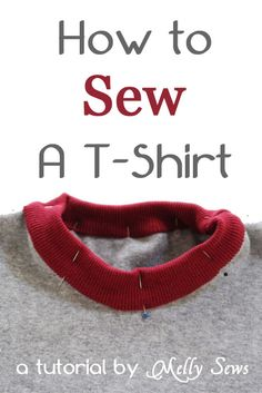 How to Sew a T-shirt - Melly Sews