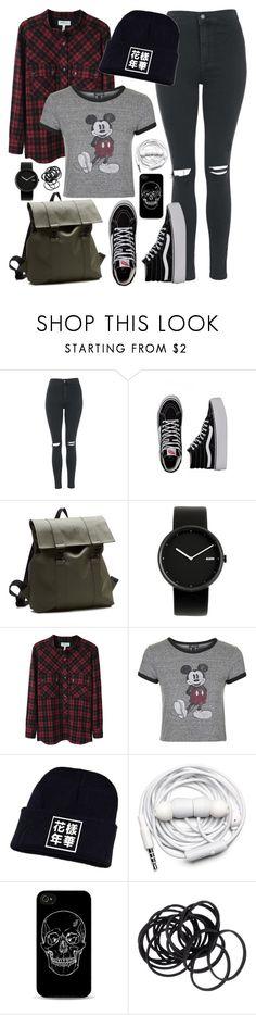 """School inspired outfit - iKon // Hanbin"" by berrie95 on Polyvore featuring Topshop, Vans, Rains, Alessi, Étoile Isabel Marant, Urbanears, H&M, bi, ikon and hanbin"