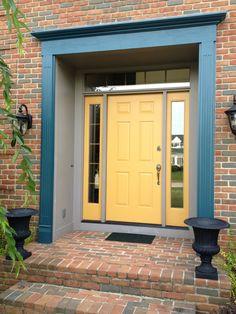 oh yellow front door, how i love thee