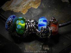 Octopus silver bead