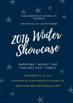 The Winter Showcase & Winter Art Show is here!