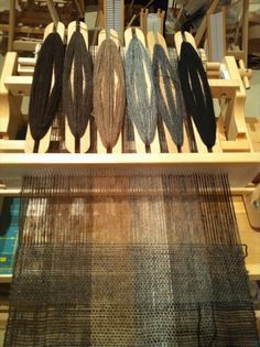 My current weaving adventure is weaving fine handspun singles on a rigid heddle loom. I've long advocated the rigid heddle loom for handspun because the plastic heddle is gentle on the thread… Tablet Weaving, Weaving Art, Tapestry Weaving, Hand Weaving, Weaving Textiles, Weaving Patterns, Handloom Weaving, Types Of Weaving, Peg Loom