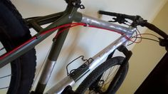 Evolution of Sentenza, my mountain bike.