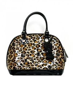 23cfe4382dd Hello Kitty Leopard Patent Embossed Tote Bag By Loungefly Leopard Patent      Check this awesome product by going to the link at the image.