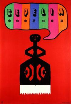 Cepelia (Art And Handicraft Foundation) Cepelia (wycinanka) Mlodozeniec Jan Polish Poster