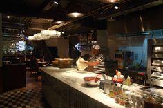 Open Restaurant Kitchen Designs asian restaurant kitchen design dining home room | restaurants