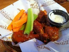 Day 30 of 365 - Wild Wings Out in Montgomery Village,  looking for a wing fix?  Stop in to Wild Wings and satisfy the craving. This new West side restaurant serves some awesome food and some of the best chicken wings in Orangeville. Their staff is friendly & very helpful.