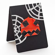 Learn how to make this awesome Crazy Jack origami greetings card for Halloween!