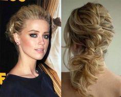 penteados para festa de formatura com cabelos presos