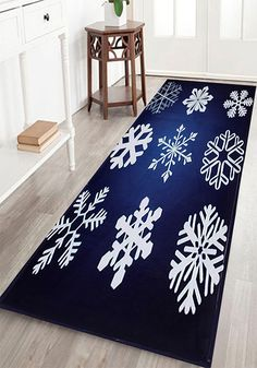 Wood Grain Christmas Tree Print Flannel Skidproof Bath Rug - Quality bath rugs for bathroom decorating ideas