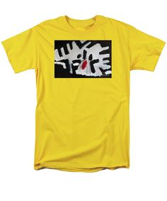 Our t-shirts are made from pre-shrunk, hiqh-quality cotton and are available in five different sizes. All t-shirts are machine washable. Cool Tee Shirts, Cool Tees, Tom Clark, Yellow T Shirt, Retro, Sweatshirts, Mens Tops, Shopping, Sweatshirt