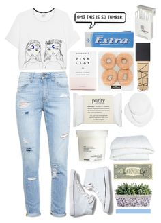 """""""Every Flipin Minute Counts"""" by charlie0015 ❤ liked on Polyvore featuring Pinko, Paige Denim, Herbivore, philosophy, H&M, Keds, Crate and Barrel, NARS Cosmetics, Dunhill and Davines"""