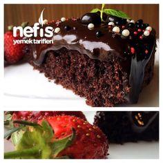 Bol Soslu Çikolatalı Pasta Kek(Müthiş)