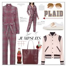 """""""One and Done: Jumpsuits!"""" by faten-m-h on Polyvore featuring Balenciaga, Ganni, Yves Saint Laurent, Valentino, Fendi and jumpsuits"""