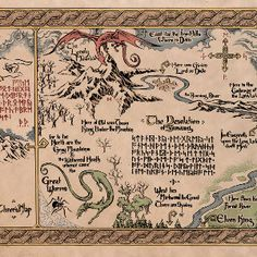 Cool literary maps of fictional worlds (BookRiot): Hogwarts, Middle Earth, Lilliput, Oz...