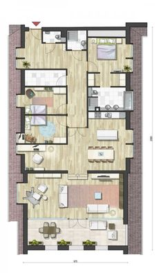plattegrond | planos | Pinterest | Bee house and House