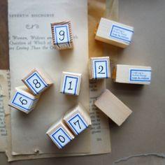 Classiky Number Stamp SET (#0-#9)