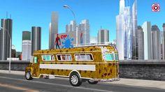 Funny Spiderman Car Wash Video   Sharks Attacks Dinosaur in Ocean   Dino...