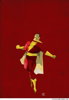 Captain Marvel/Shazam (Reloaded) by on deviantART Captain Marvel Shazam, Ms Marvel, Marvel Dc Comics, Shazam Comic, Dc Comics Characters, Dc Comics Art, Anime Sexy, Superman, Batman