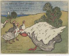 Les Amis de l'Art Japonais Dîner le Lundi 18 Mai 1908 au Restaurant du Cardinal : [carton d'invitation, estampe] / Composition de M. Luigi Chialliva [sic]