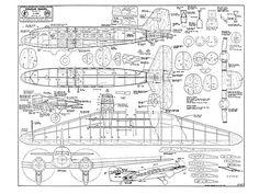 Douglas Dakota - plan thumbnail